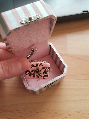 £36 • Buy Juicy Couture Charm - Pink Clutch Handbag - Boxed And Never Been On Bracelet