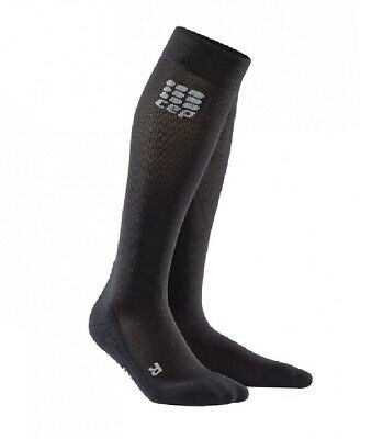 £24.37 • Buy CEP Mens Recovery+ Socks - Compression For Recovery - Black, Size 4