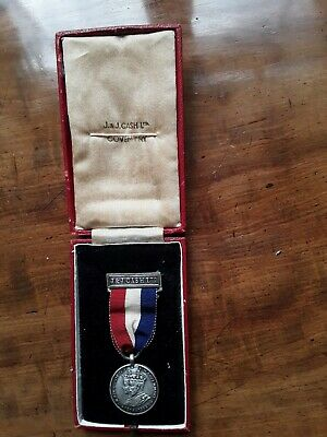 £9.99 • Buy 1935 George V Silver Jubilee Commemorative Medal Issued By J & J Cash, Coventry