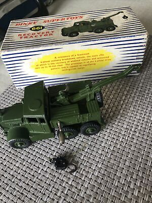 £24 • Buy Dinky Supertoys Toys 661 - Scammell Recovery Tractor - Original Boxed Model Good