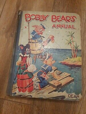 £5.99 • Buy VERY RARE VERSION 1950s   BOBBY BEARS ANNUAL DEAN AND SON