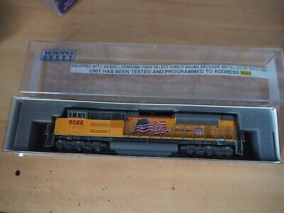 £165 • Buy Kato N Gauge SD70 ACe Loco DCC And Sound Brand New