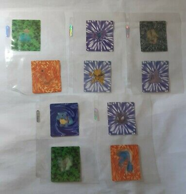 £10.99 • Buy Complete Set!!! Kellogg's Pokémon Cards 21 Yrs Old.3d Holographic
