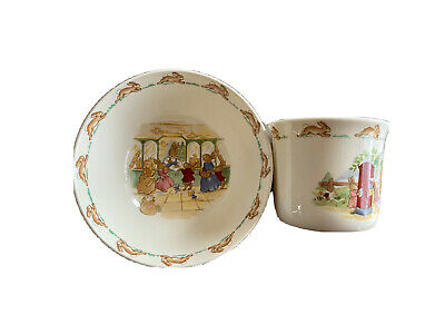 $ CDN28.89 • Buy Royal Doulton Bunnykins Easter 2 Pc Set Cup And Bowl China Set Delivering Mail