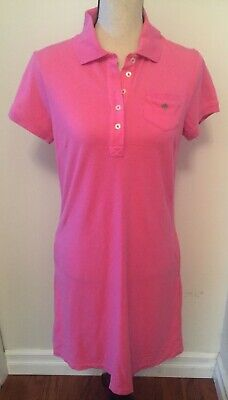 $24.99 • Buy Lilly Pulitzer Pink Short Sleeve Shift Dress Size Small