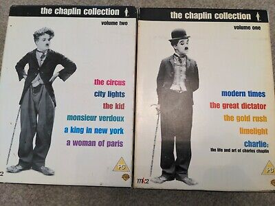 £5 • Buy The Charlie Chaplin Collection Complete Set