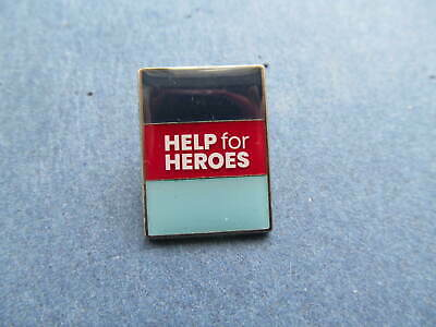 £4.10 • Buy  Help For Heroes  Pin Badge-new & Bagged-with Free P&p