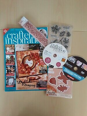 £5 • Buy Crafters Companion Crafts Inspiration Magazine Box Set Issue 11