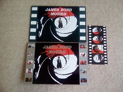 £140 • Buy James Bond 007 Movie Collection Phone Cards Rare Unused In Special Folders