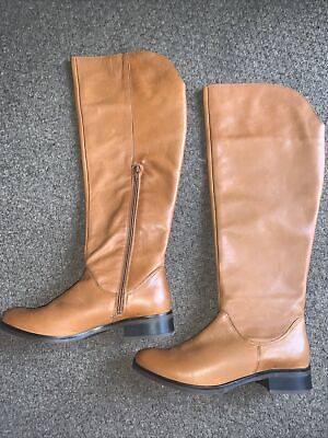 £29.95 • Buy Brand New Clarks Tan Soft Leather Boots Size 5.5 Uk