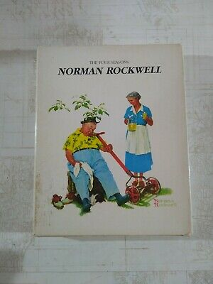 $ CDN14.94 • Buy Norman Rockwell The Four Seasons Gallery Books Set Of 4 With Box (HC)