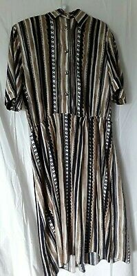 AU3.74 • Buy Gayle Glass Collection Ethnic Printed Ladies Dress Size 18