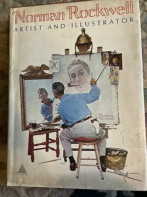 $ CDN74.27 • Buy LARGE NORMAN ROCKWELL Coffee Table Book 1st Edition 1970 Thomas S. Buechner
