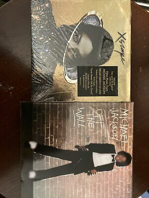 £3 • Buy Michael Jackson - Xscape Deluxe CD + DVD/ Off The Wall CD + DVD
