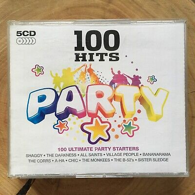 £2 • Buy 100 Hits Party Ultimate Party Starters 5 Disks