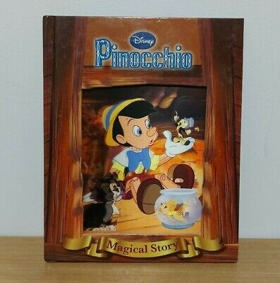 £3.29 • Buy Disney Pinocchio Magical Story With Amazing Moving Picture Cover By Disney Book