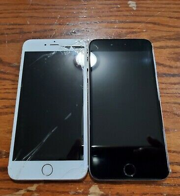 $ CDN50.35 • Buy Lot Of 2 IPhones 6s Plus Gold And Gray AS IS READ