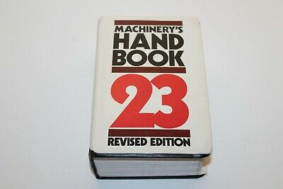 $25.95 • Buy Machinery's Hand Book 23rd Revised Edition Industrial Press Hardcover