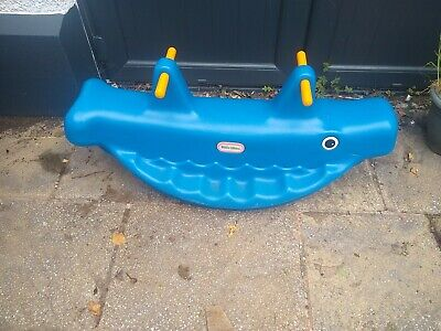 £10 • Buy Little Tikes Whale Teeter Totter Seesaw
