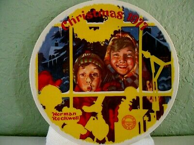 $ CDN37.77 • Buy Vintage Norman Rockwell Christmas 1977 Limited Collector Plate Made By Knowles