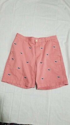 $15 • Buy Vineyard Vines Mens  Whale Embroidered  Shorts Size 36x9 Great Condition