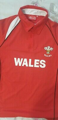 £1.89 • Buy Wales Rugby Shirt Size Small