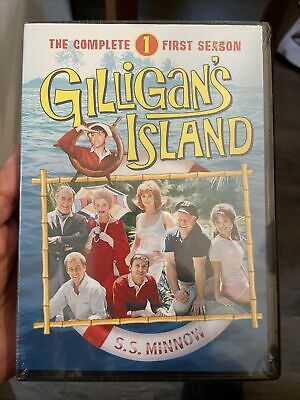 £10.18 • Buy Gilligans Island  The Complete First Season (DVD, 2012, 6-Disc Set) NEW SEALED