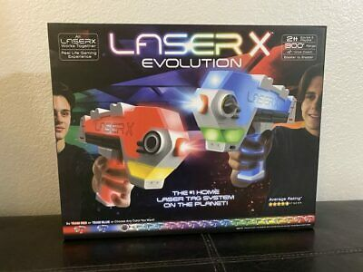 £39.99 • Buy Laser X Evolution Double Blaster Pack Laser Tag Electronic Colour Changing
