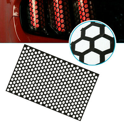AU5.97 • Buy Car Rear Tail Light Honeycomb Sticker Taillight Lamp Cover Universal Accessories