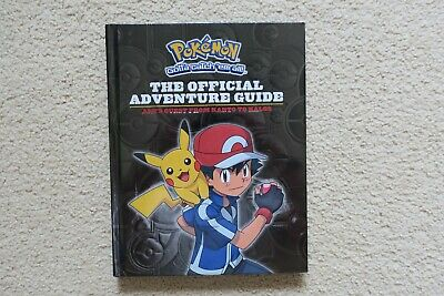 AU10 • Buy Pokemon The Official Adventure Guide Book