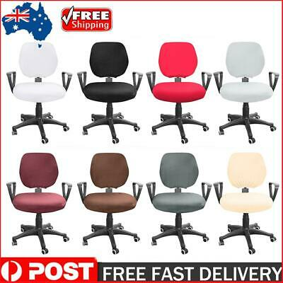 AU12.49 • Buy Spandex Stretch Computer Chair Cover Elastic Home Office Chairs Seat Case