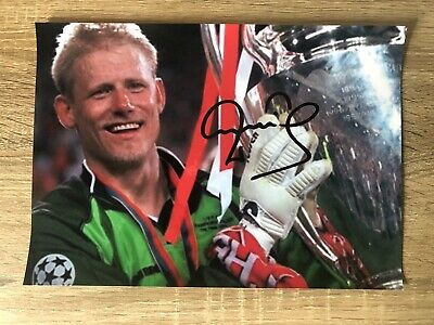 £5 • Buy Peter Schmeichel Manchester United Signed Photo Football