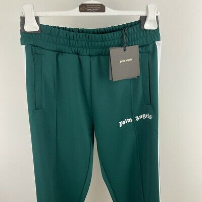 £250 • Buy Palm Angels Tracksuit Bottoms, Trackpants, Green, Size L, BNWT