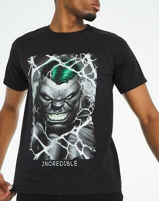 £16.99 • Buy Incredible Hulk T-shirt Officially Licensed Marvel Comics Jersey Black Size 4XL