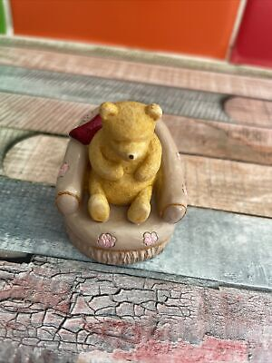 £2.10 • Buy Traditional Disney Winnie The Pooh In Armchair Rare Collectable