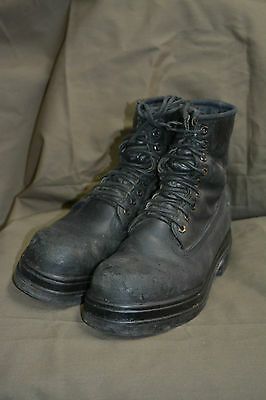 $39.99 • Buy Used Canadian Military Combat Boots Size 10 1/2  Steel Toe  ( Z-48 )