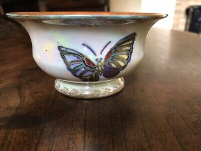 £130 • Buy Wedgwood Lustre Butterfly Bowl