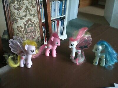 £4.86 • Buy My Little Pony MLP G4 X4 Lily Blossom, Pinkie Pie, Blossomforth & Colouratura