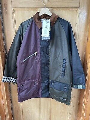 AU1.85 • Buy Barbour X Alexa Chung Multi-Coloured Patch Wax Ladies Jacket (Size 10 - Fits 12)