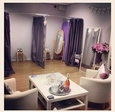 £20 • Buy 2 Pairs Of 228cm Long Purple Curtains