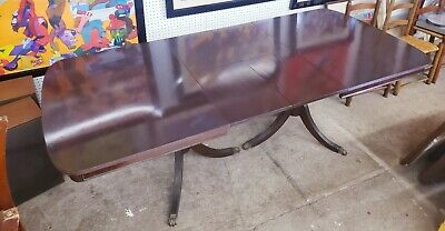 $1500 • Buy Duncan Phyfe Drop Two Leaf Mahogany Dining Table