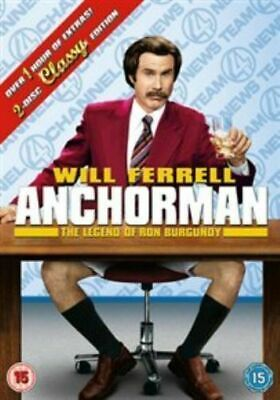 £1.99 • Buy Anchorman (DVD) New Sealed The Legend Of Ron Burgundy Will Ferrell 2 Disc Set