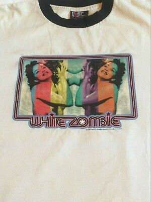 $ CDN250 • Buy RARE AUTHENTIC Vintage 1997 White Zombie Shirt Sz Large Rob Zombie Ministry 90s