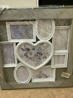 £0.01 • Buy Next, Heart Collage Photo Frame