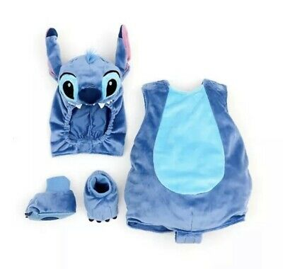 £13.50 • Buy Brand New With Tags Disney Store Stitch Baby Dress Up Costume 18-24months