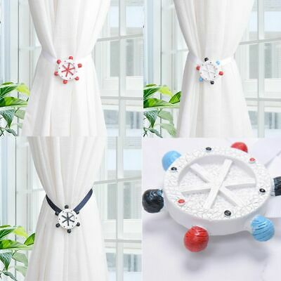 £8.64 • Buy Magnets Curtain Tieback Rudder Series Boy Bedroom Home Decoration Accessories