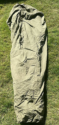 $69.95 • Buy VTG U.S. Military Down Cocoon Mummy Sleeping Bag/ Cover 6'  Extreme Weather