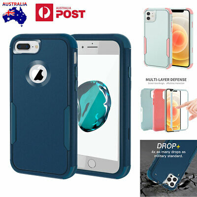 AU9.99 • Buy For IPhone SE 2020 8 7 6s Plus XR 11 12 Pro Max Heavy Duty Shockproof Case Cover