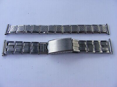 £4.95 • Buy 2  Vintage Gents Expanding Watch Straps