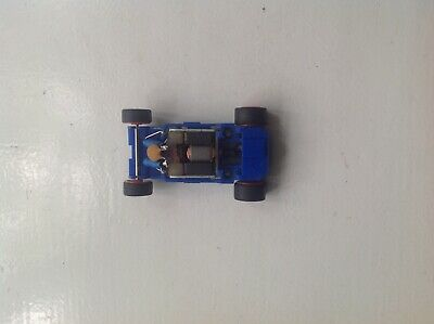 £4.99 • Buy MICRO Scalextric 12v  BLUE Chassis Engine Wheels Tested And Fully Working Vgc